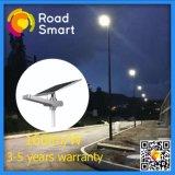 luz de rua solar ao ar livre inteligente do diodo emissor de luz de Wiress da bateria de lítio 15-50W