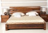 Кровати твердой деревянной кровати самомоднейшие двойные (M-X2250)