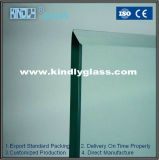 3.222mm light -Green Tempered Glass met Ce