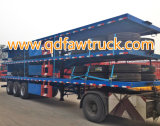40ft Container 세 배 Axle Flatbed Trailer