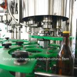4000bph自動ガラスビンビール満ちるびん詰めにする機械装置