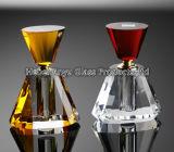 Botella de perfume del vidrio cristalino de la India 3-6ml para el regalo de la promoción