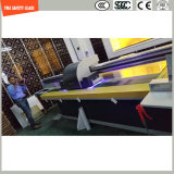 La stampa del Silkscreen della vernice di alta qualità 3-19mm Digitahi/incissione all'acquaforte acida/hanno glassato/piano del reticolo/hanno piegato gli occhiali di protezione Tempered per la parete/pavimento/divisorio con SGCC/Ce&CCC&ISO