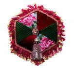 Amortiguador modelo determinado del jardín de la decoración de la almohadilla redonda hermosa del algodón