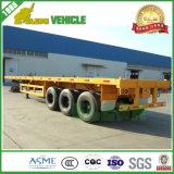 Fábrica de China feita 60 de 3axle do recipiente toneladas de reboques do caminhão Semi