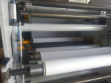 Hete het Lamineren van de Deklaag van de Sticker van de Smelting Zelfklevende Machine