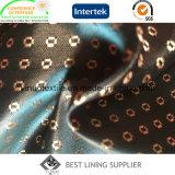 Ton-Satin-Futter-Gewebe des Shine-Qualitäts-Polyester-zwei