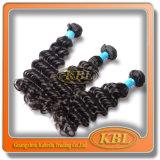 Человеческие волосы полной надкожицы Unprocessed бразильские