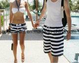 Пары одевая, быстро сухой износ пляжа, краткости доски для одежд любовников