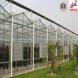 現代に農業の植わることのための情報処理機能をもったガラス温室