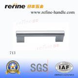 Poignée en aluminium de traction des prix de matériel chaud de meubles (L-713)