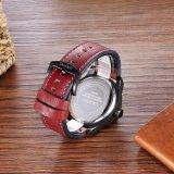 Wristwatch 6869 Mens на размере 48mm, покрынная чернота IP пряжки Ss кожаный планки случая металла