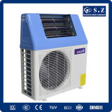 A água quente Home 220V do chuveiro 60deg c, R410A conserva a energia 5kw de 80%, 7kw, calefator de água da bomba de calor da potência 9kw solar mais altamente do que a bobina 5.0