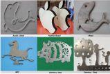 maquinaria del corte del laser del CNC del metal 3D y del no metal