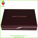 Förderndes Knife Paper Packaging Box mit White EVA Insert