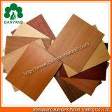 오크 또는 Beech/Sapele Wood Grain Veneer MDF Board