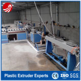 Chaîne de production en plastique d'extrusion de tube de pipe de silicium de HDPE
