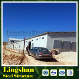ISO-Zwischenlage-Panel-Bratrost-Geflügelfarm-Haus