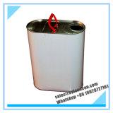 ovales metallisches Zinn 5liters Bucket_for Abkühlung-Öl