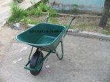 Wheelbarrow de aço durável da construção da venda quente, carrinho de mão de roda do jardim