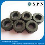 Anello a magnete permanente di ceramica del magnete del ferrito