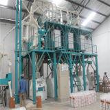 Fazendo a máquina do moinho de farinha do milho de Fufu Sadza Nshima Ugali 50t/D