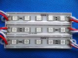 5LEDs Epistar saltara el módulo del pixel 5050 LED para la muestra de la iluminación