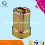 Piezas de maquinaria de la embutición profunda del metal de hoja de la alta precisión