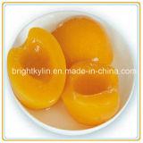 Fabricante amarelo enlatado novo do pêssego da fruta enlatada da colheita 2016