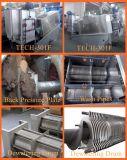 Machine de asséchage de fabrication en cuir de presse à vis de traitement d'eaux d'égout
