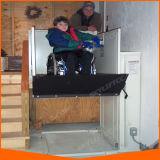 Levage de fauteuil roulant d'expédition de baisse pour l'ascenseur à la maison handicapé