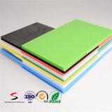 Strato di cartone corrugato di plastica della cavità pp