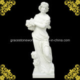 Hochwertiges Four Season God Statue mit Hunan White Marble
