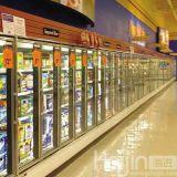 Getränkeanzeigen-Schaukasten/Getränkekühlraum mit 2 Türen