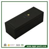 Elegent Black Clamsell Caixa de presente de perfume de madeira