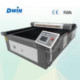 Tissu bon marché de laser coupant la machine élevée de Preciaion avec la conformité de FDA d'OIN de la CE