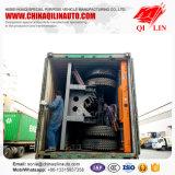 Трейлер коль Tri-Axle с замками контейнера