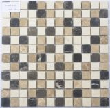 Baldosa mosaico de piedra decorativa pared de la cocina