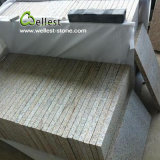 G682 Golden Sunset Bush Hammered Granite Floor Tile