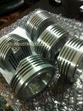 Partie de usinage en aluminium adaptée aux besoins du client