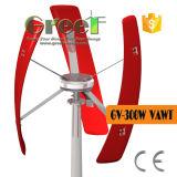 Низкая ветротурбина оси Rpm 500W вертикальная с малошумным