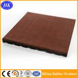 En1177によって証明される最上質の耐久のゴム製床タイル