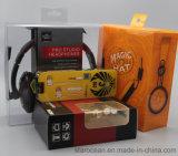인쇄를 가진 플라스틱 선물 상자 PVC 포장 헤드폰 포장 상자