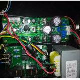 Posto de gasolina da bomba de gás de uma bomba e de dois indicadores do LCD