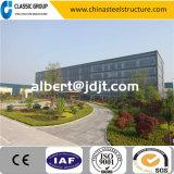 Struttura d'acciaio prefabbricata dell'edificio per uffici della bella installazione rapida