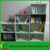 Bibliothèque en bois de modèle moderne
