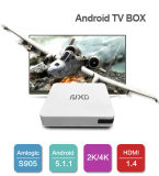 Le cadre X8 de l'androïde 5.1 TV de faisceau de quarte supporte SATA interne HDD