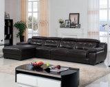 Alta qualità L moderna sofà del cuoio di figura (B. 911)