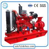 Bomba de incêndio do motor Diesel da sução do fim do fornecedor de China