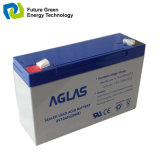 bateria selada AGM recarregável de Aicd da ligação 6V para o sistema de alarme